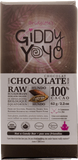 Giddy Yoyo Hundo 100% Dark Chocolate Bar - 62g