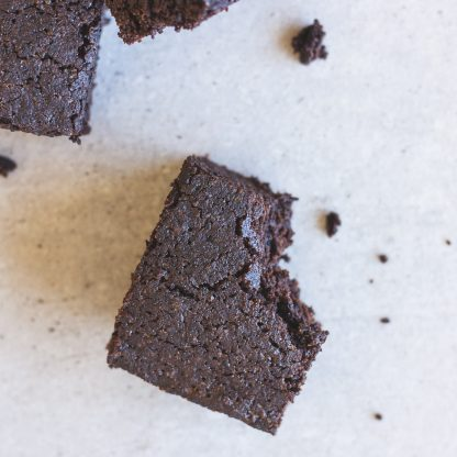 Second Spring Organic Sprouted Black Bean Brownie Mix - 414g