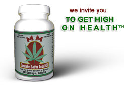 Stephen Health Agency MM Cannabis Sativa Seed Oil - 90 Capsules (Canada Only )