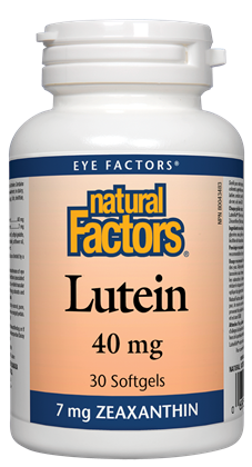 Natural Factors Lutein 40mg - 30 Softgels