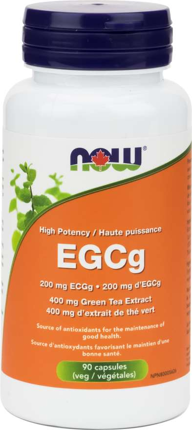 Now EGCg Green Tea Extract 400mg - 90 Capsules