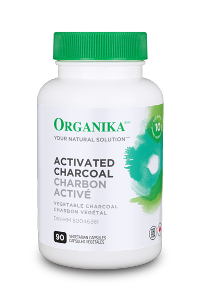 Organika Activated Charcoal - 90 Capsules