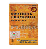 Flora Organic Soothing Chamomile Tea - 16 Bags