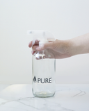 Pure Glass Bottle With Spray - 500ml