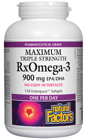 RxOmega-3 - 900mg EPA/DHA 150 Softgels
