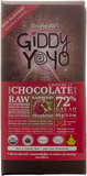 Giddy Yoyo Raspberry 72% Dark Chocolate Bar - 62g