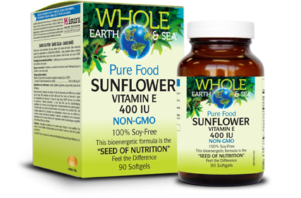 Sunflower Vitamin E - 400 IU 90 Softgels