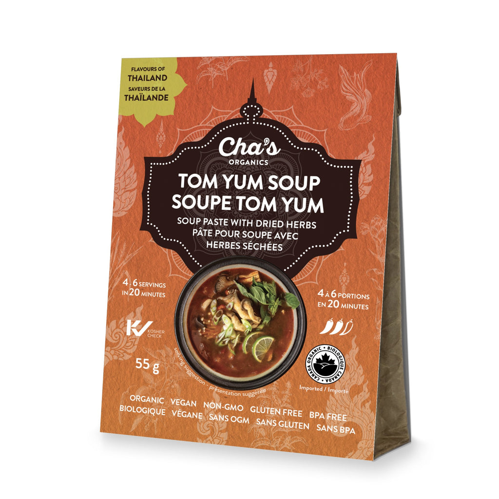 Cha's Organics Tom Yum Soup - 55g