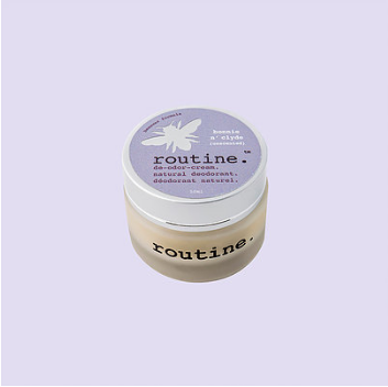 Routine Natural Deodorant Cream - Bonnie n' Clyde