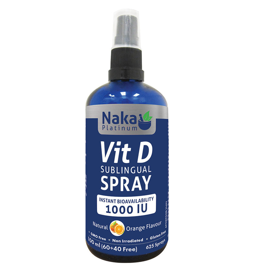 Naka Platinum Vitamin D Spray – 100ml