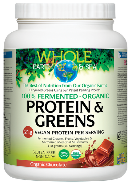 Fermented Protein & Greens - 710g Chocolate Flavour