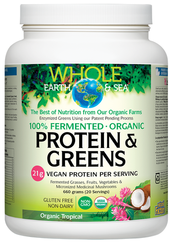 Fermented Protein & Greens - 660g Tropical Flavour