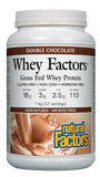 Natural Factors Whey Factors® Double Chocolate Protein Powder - 1kg