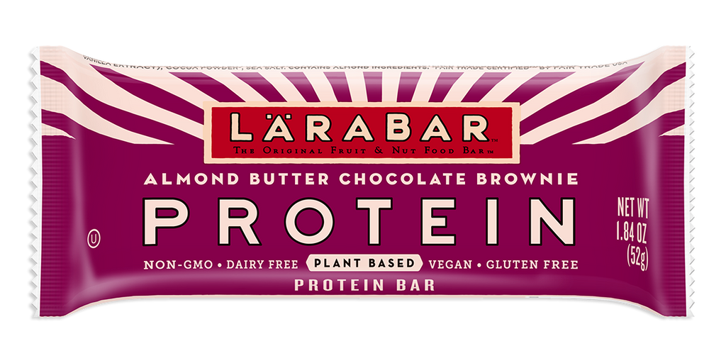 LaraBar Almond Butter Chocolate Brownie Protein Bar