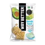 Way Better Snacks Avocado Ranch Tortilla Chips - 156g