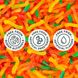 Smart Sweets Halloween Gummy Worms