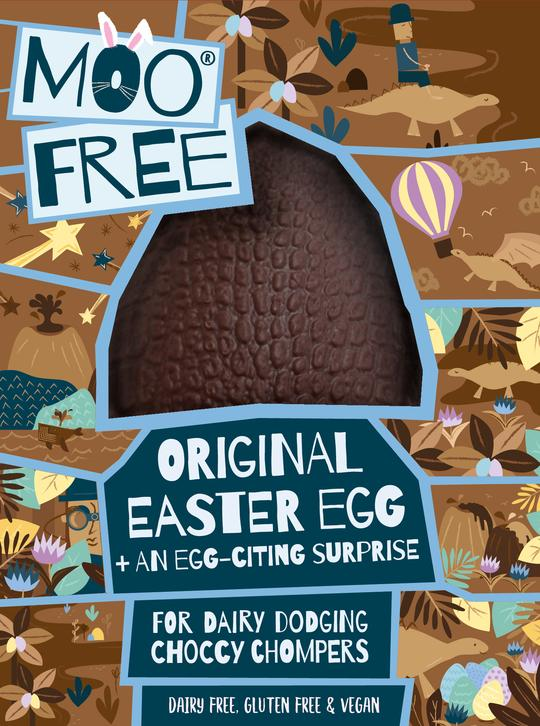 Moo Free Original Vegan Easter Egg