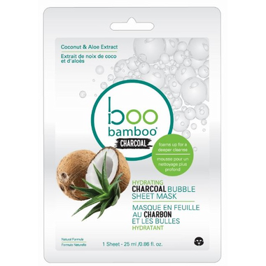 Boo Bamboo Charcoal Bubble Mask