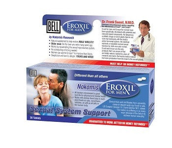 Bell Lifestyle Products Eroxil For Men - 30 Capsules
