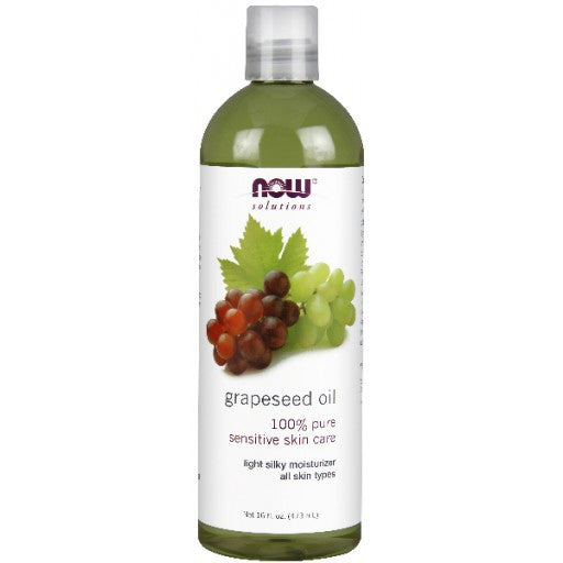 Now Grapeseed Oil - 473ml