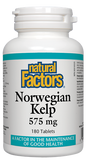 Natural Factors Norwegian Kelp 575 mg - 180 Tablets