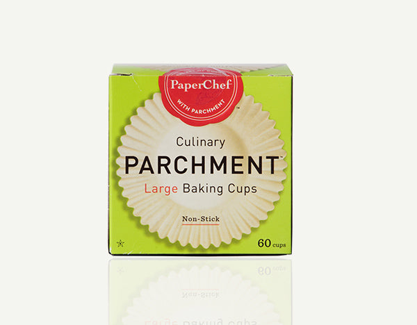 PaperChef Large Culinary Parchment Baking Cups - 60 Cups