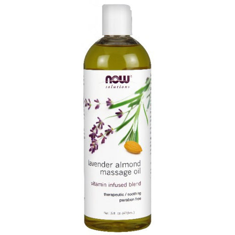 Lavender Almond Massage Oil - 473ml