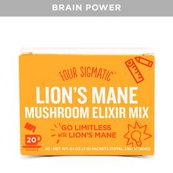 Four Sigmatic Lion's Mane Mushroom Elixer - 20 Packets