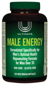 Ultimate Male Energy - 120 Capsules