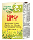 VitaDay Men's Multivitamin - 60 Capsules