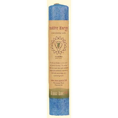 Aloha Bay Positive Energy Chakra Pillar Candle