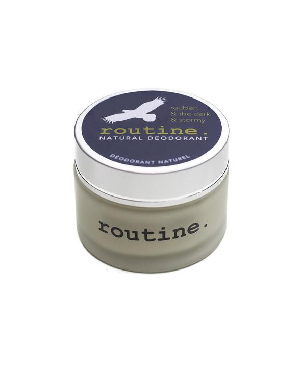 Routine Natural Deodorant Cream Reuben & The Dark & Stormy - 58g