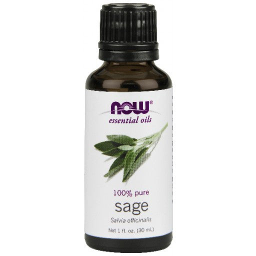 Now Sage Essential Oil - 30ml