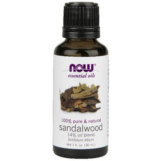 Now Sandalwood Essential Oil - 30ml