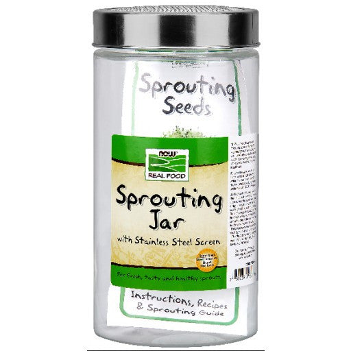Now Sprouting Jar - 1/2 Gallon