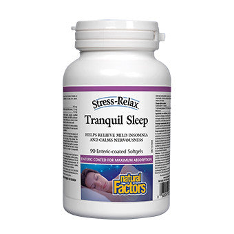 Tranquil Sleep - 90 Enteric Coated Softgels