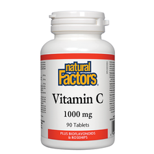 Natural Factors Vitamin C 1000mg - 90 Tablets