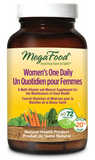 MegaFood Women's One Daily Multivitamin - 72 Tablets