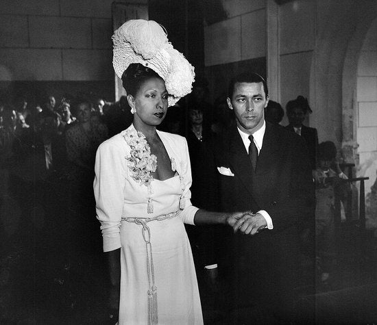 Josephine Baker and Jo Bouillon
