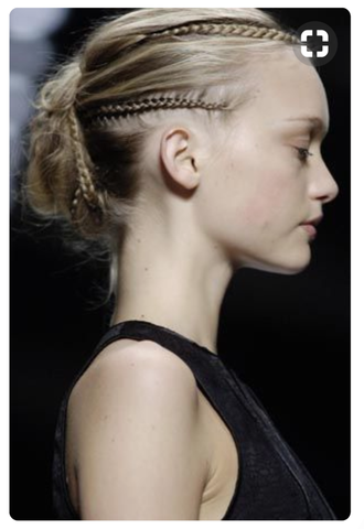 wedding hair inspo bun braid inspiration beauty spring