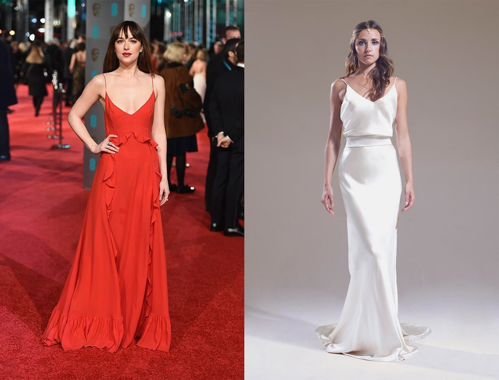 Bafta bridal fashion