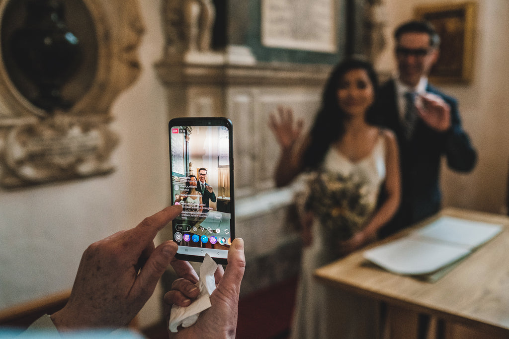 How to do a zoom wedding