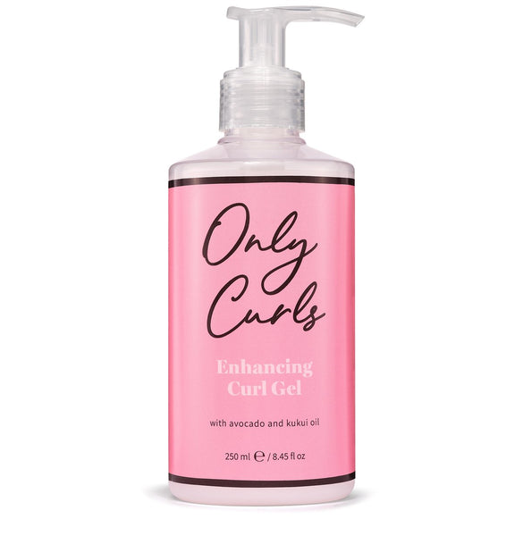 Only curls enhancing curl gel