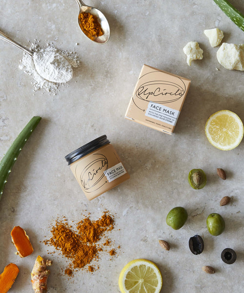 Vegan Face Mask with olive powder