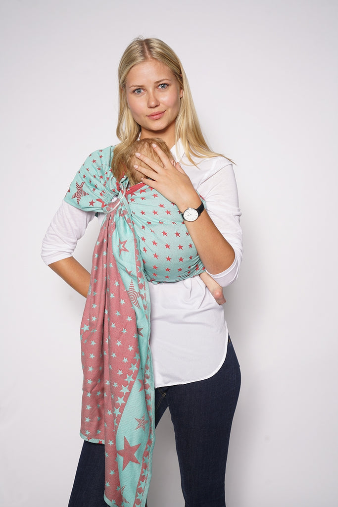 Kokadi Wrap Ring Sling 99 UNITY STAR - Limited Ed - Fluff Mail