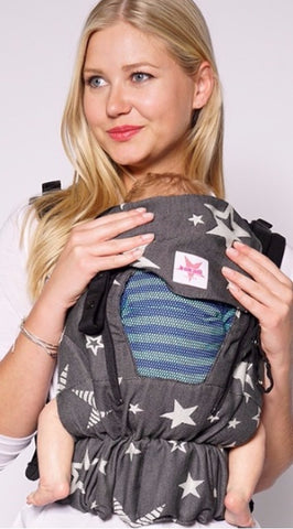NEW! Kokadi Baby Carrier Flip Z Performance Air DIORITE STARS - Fluff Mail