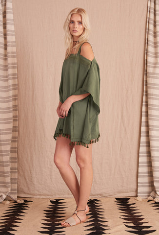 SISSALA ARMY GREEN DRESS