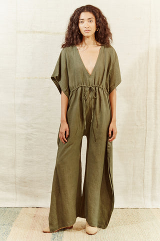 PIARCO GREEN JUMPSUIT
