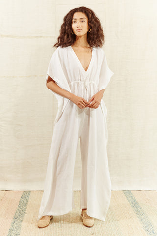 PIARCO WHITE JUMPSUIT
