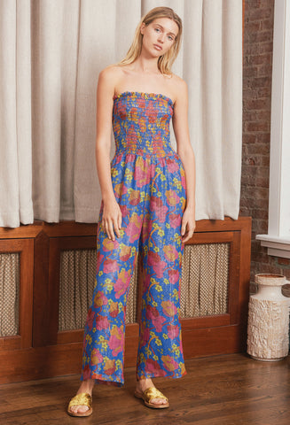 CELA BLUE JUMPSUIT